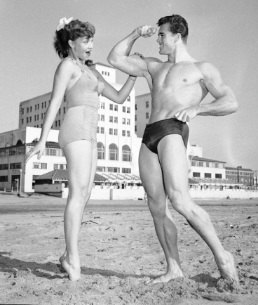 ed_fury_and_jackie_coey_1953